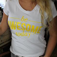 T-shirt BE AWESOME